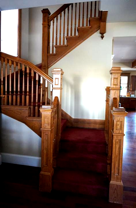 Photo of Staircase in Vintage Home